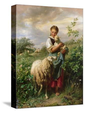 The Shepherdess, 1866