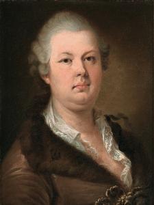 Count Alessandro Di Cagliostro (1743-179) by Johann-Baptist Lampi the Younger