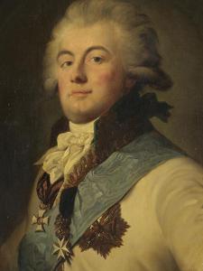 Portrait of Admiral July Litta (Giulio Renato De Litta Visconti Ares) by Johann-Baptist Lampi the Younger