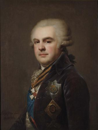 Portrait of Count Alexander Nikolayevich Samoylov (1744-181), 1796
