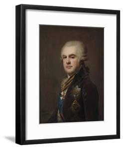 Portrait of Count Alexander Nikolayevich Samoylov (1744-181), 1796 by Johann-Baptist Lampi the Younger