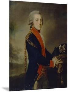 Portrait of Count Artemy Ivanovich Lazarev (1768-179), 1790S by Johann-Baptist Lampi the Younger