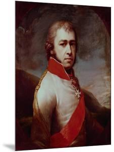 Portrait of Count Boris Vladimirovich Golitsyn (1769-181), 1797 by Johann-Baptist Lampi the Younger