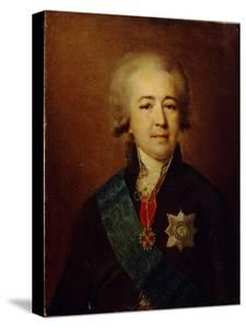 Portrait of Prince Alexander Kurakin (1752-181) by Johann-Baptist Lampi the Younger