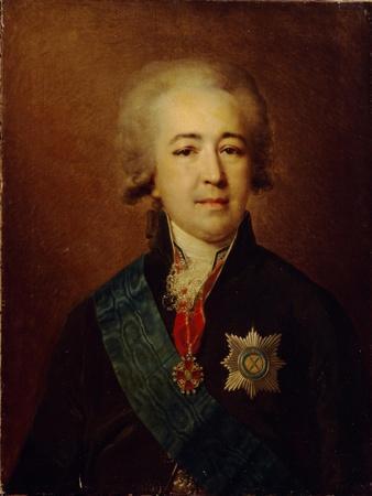 Portrait of Prince Alexander Kurakin (1752-181)