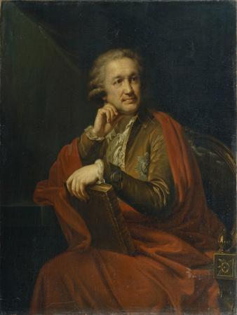 Portrait of Prince Alexander Sergeevich Stroganov (1733-181), 1793