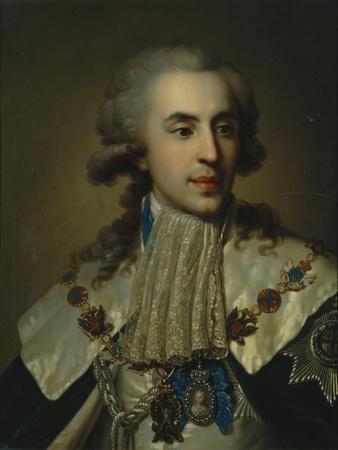 Portrait of Prince Platon Zubov (1767-182), 1793