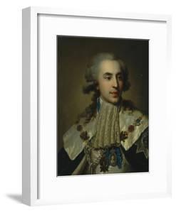 Portrait of Prince Platon Zubov (1767-182), 1793 by Johann-Baptist Lampi the Younger