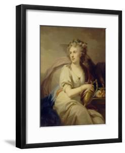Portrait of Princess Ekaterina Fyodorovna Dolgorukova (1769-184) as Hebe by Johann-Baptist Lampi the Younger