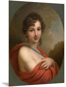 Portrait of Yelena Naryshkina (1785?185), 1800 by Johann-Baptist Lampi the Younger