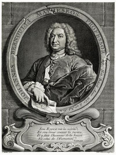 Johann Bernoulli, 1884-90--Giclee Print