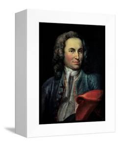 Johann Sebastian Bach by Johann Ernst Reutsch