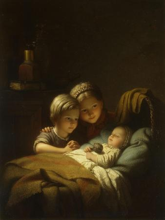 The Little Sleeping Brother, 1855