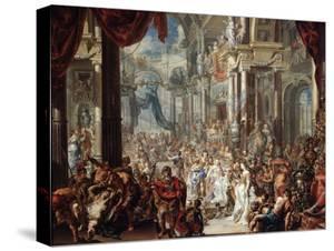 The Parable of the Wedding Feast, 1737 by Johann Georg Platzer