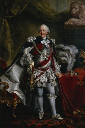 Ferdinand Duke of Brunswick-Lueneburg Attired as Knight of the Garter, C.1763