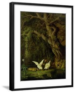 Foxes and Geese by Johann Heinrich Tischbein