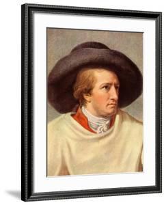 GOETHE Johann Wolfgang by Johann Heinrich Tischbein