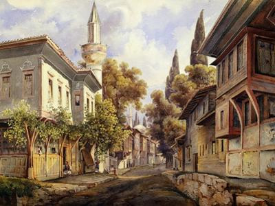 A Street in Constantinople, 1835