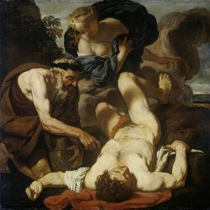 Selene and Endymion (The Death of Orio), 1660S-1670S by Johann Karl Loth
