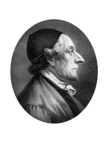 Johann Kaspar Lavater, Swiss Physiognomist and Theologian-J Chapman-Giclee Print