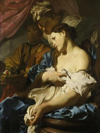 Death of Cleopatra, about 1622/24