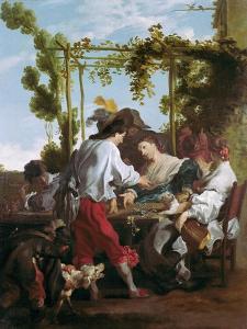 The Morra Game by Johann Liss (Lys)