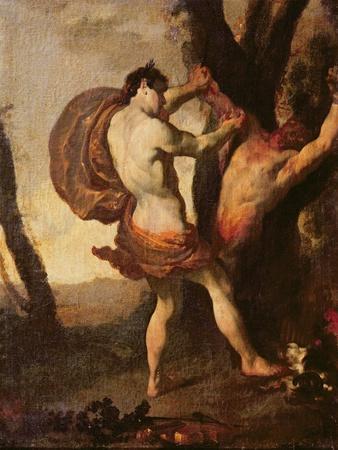 Apollo Flaying Marsyas, C.1627