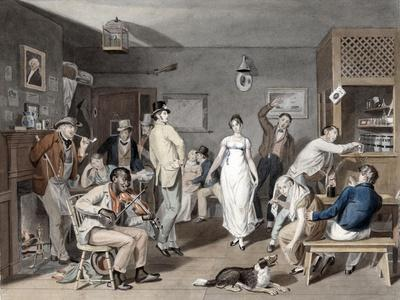 Country Dancing, C.1820
