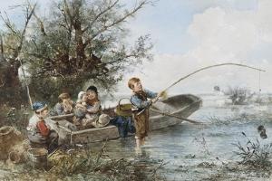The Fishing Expedition by Johann Mari Henri Ten Kate