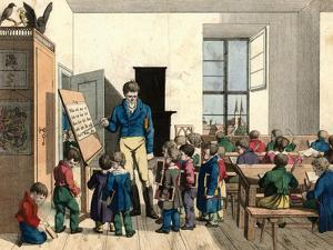 The School by Johann Michael Voltz