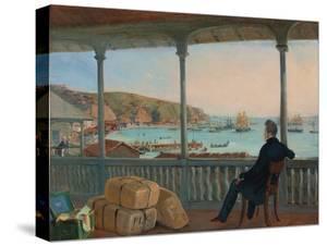 Valparaiso, 1841 by Johann Moritz Rugendas