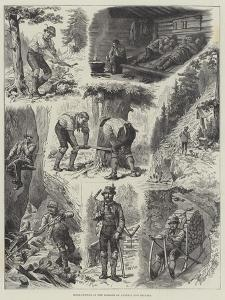 Wood-Cutting in the Forests of Austria and Bavaria by Johann Nepomuk Schonberg