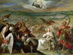 Allegory of the Turkish Wars: The Capture of Stuhlweissenburg, 1603-4 by Johann or Hans von Aachen