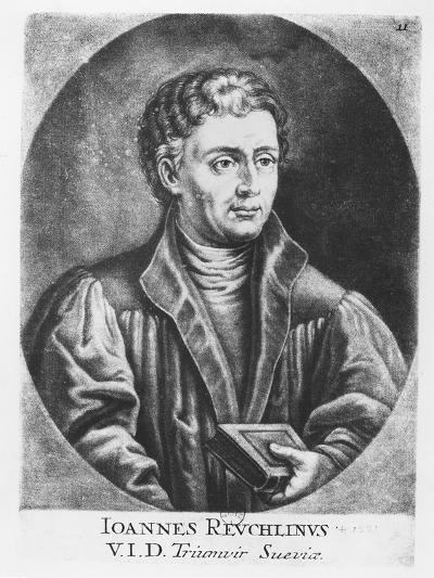 Johann Reuchlin--Giclee Print