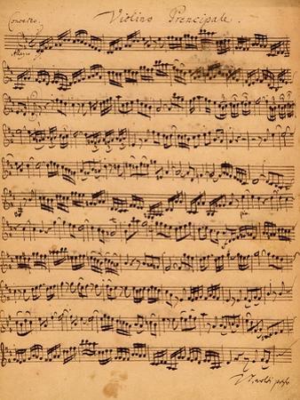 The Brandenburger Concertos, No.5 D-Dur, 1721 by Johann Sebastian Bach