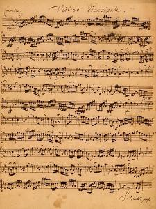 The Brandenburger Concertos, No.5 D-Dur, 1721 by Johann Sebastian Bach