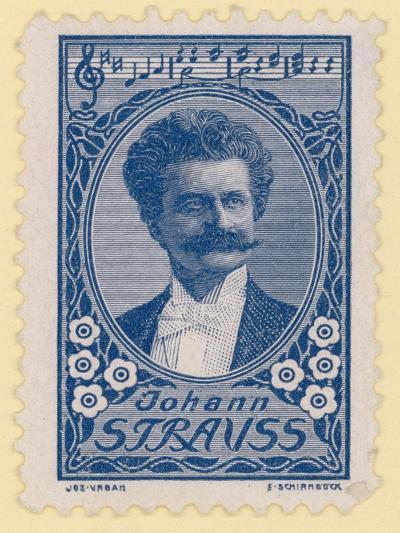 Johann Strauss II, Austrian Composer--Giclee Print