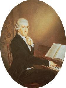 Joseph Haydn circa 1795 by Johann Zitterer