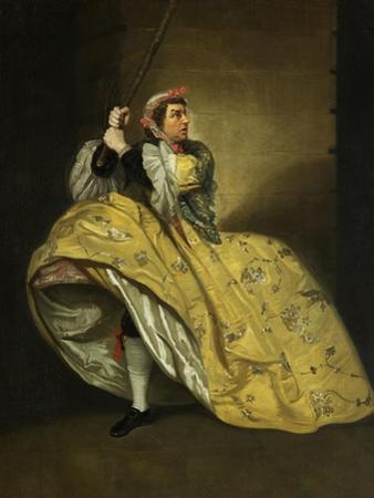 David Garrick as John Brute in the 'Provok'D Wife' by Vanbrugh, Drury Lane, 1763