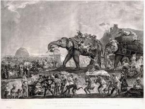 Embassy of Hyderbeck to Calcutta by Johann Zoffany