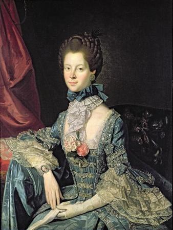 Queen Charlotte Sophia (1744-1818) Wife of King George III (C.1765)