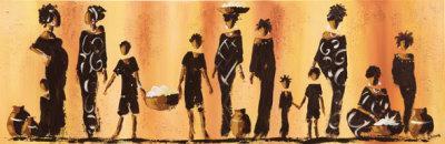 Maman et Moi II-Johanna-Art Print