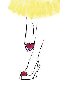 Heart Shoes by Johanna Fernihough
