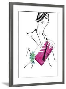 Hot Pink Bag by Johanna Fernihough