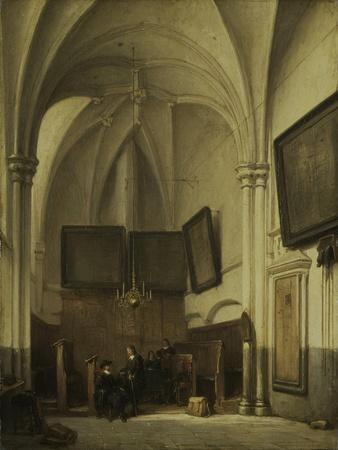Vestry of the Church of St Stephen in Nijmegen