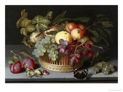 Still Life of Apples, Grapes and Nuts