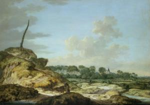 Island of Walcheren with the Castle of Westoven by Johannes Goedaert