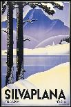 Advertising poster for Villars, Switzerland-Johannes Handschin-Art Print