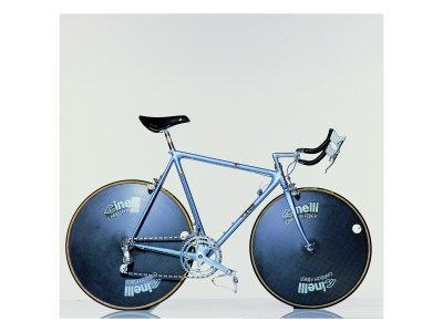 The Crono Road Model of Laser Bicycle (Cinelli, Milan)