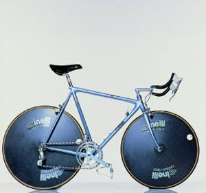 The Crono Road Model of Laser Bicycle (Cinelli, Milan) by Johannes Handschin